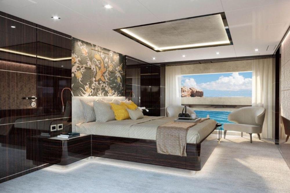 HAPPY ME - Luxury Motor Yacht For Charter - Full Beam Master Suite - Img 1 | C&N