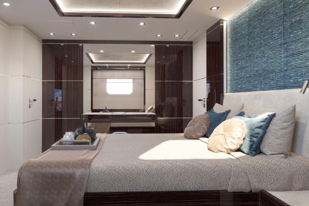 HAPPY ME - Luxury Motor Yacht For Charter - Full Beam Master Suite - Img 4 | C&N