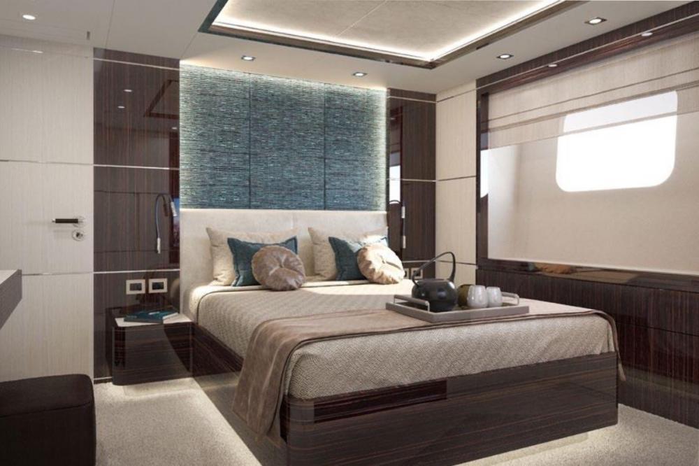 HAPPY ME - Luxury Motor Yacht For Charter - Full Beam Master Suite - Img 5 | C&N