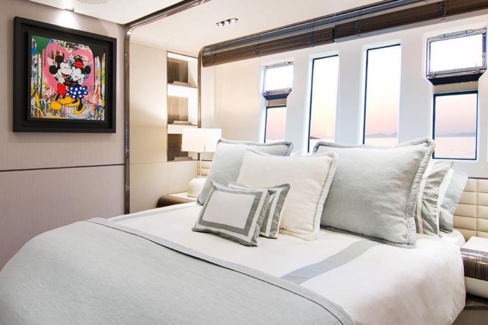 MEMORIES TOO - Luxury Motor Yacht For Charter - Master Cabin - Img 3 | C&N