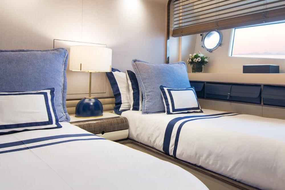 MEMORIES TOO - Luxury Motor Yacht For Charter - Master Cabin - Img 5 | C&N
