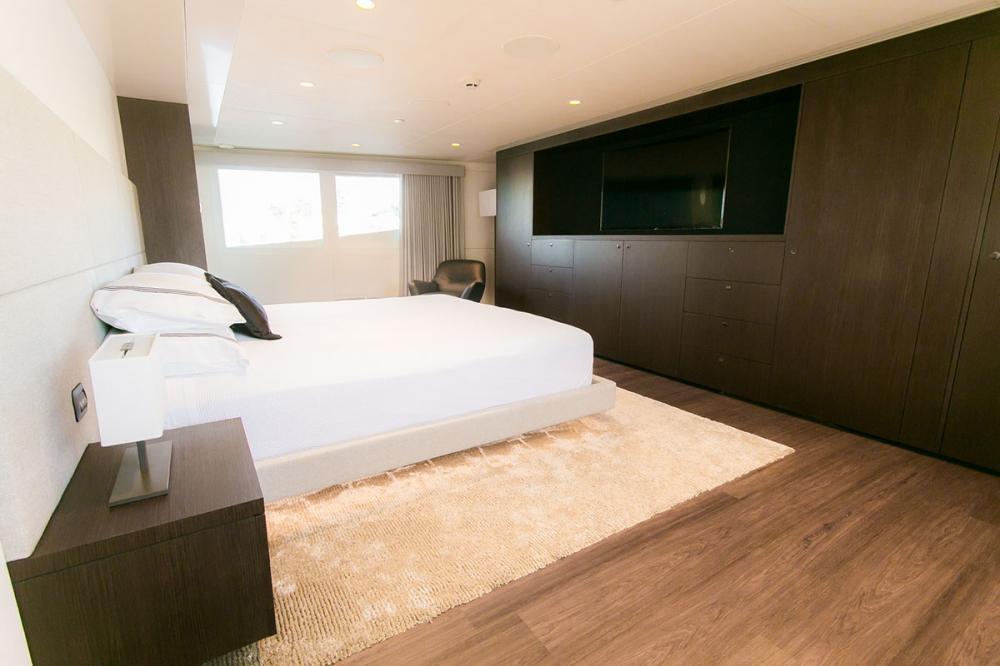SAHANA - Luxury Motor Yacht For Charter - Master Cabin - Img 2 | C&N