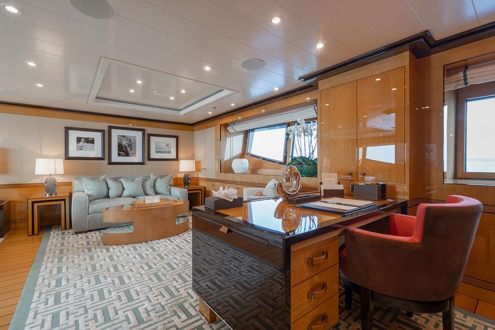 SERENITY J - Luxury Motor Yacht For Charter - 1 MASTER CABIN - Img 4 | C&N