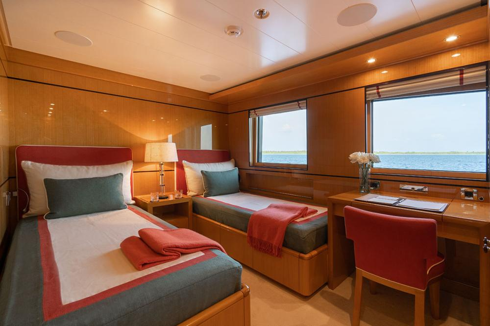 SERENITY J - Luxury Motor Yacht For Charter - 5 GUEST CABINS - Img 6 | C&N