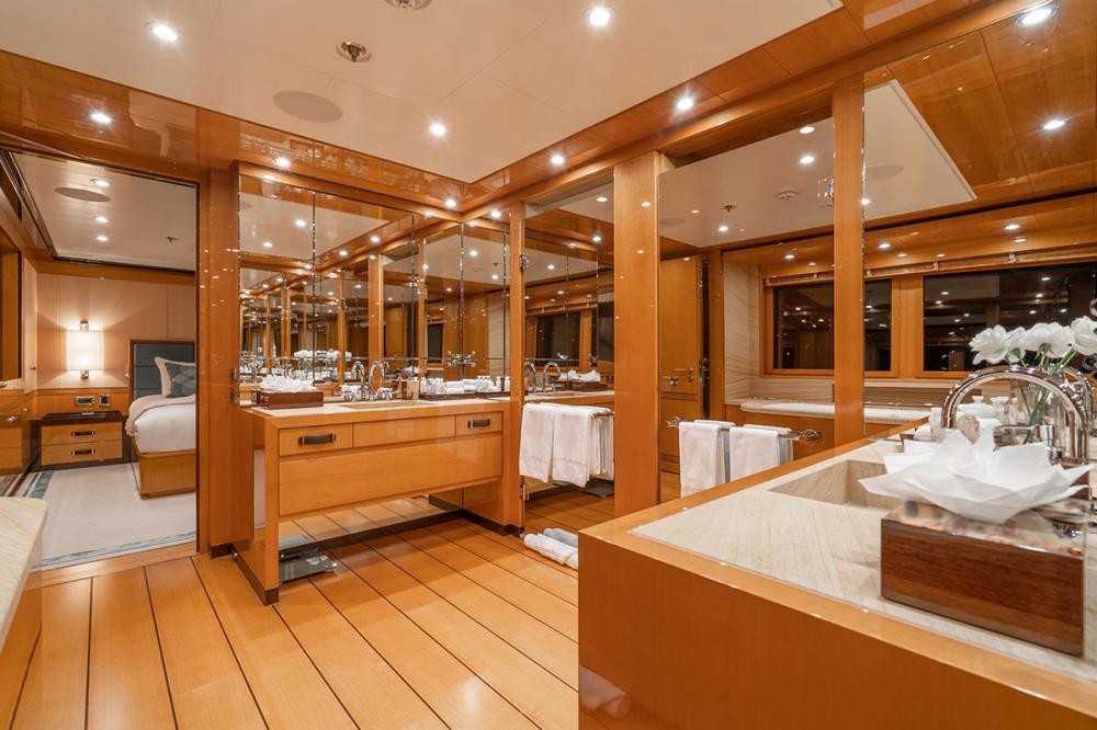 SERENITY J - Luxury Motor Yacht For Charter - 1 MASTER CABIN - Img 2 | C&N