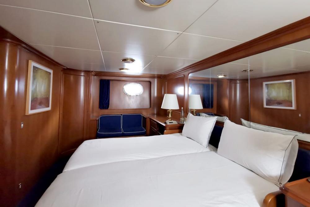 BEL-AMI II - Luxury Motor Yacht For Sale - 1 MASTER CABIN - Img 2 | C&N