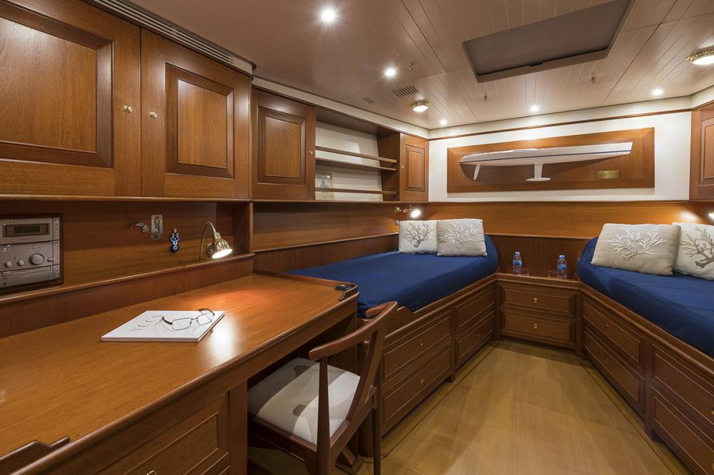 ALEXIA - Luxury Sailing Yacht For Sale - 3 Twin Cabins - Img 2 | C&N