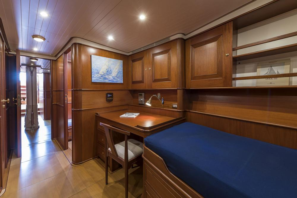 ALEXIA - Luxury Sailing Yacht For Sale - 3 Twin Cabins - Img 4 | C&N