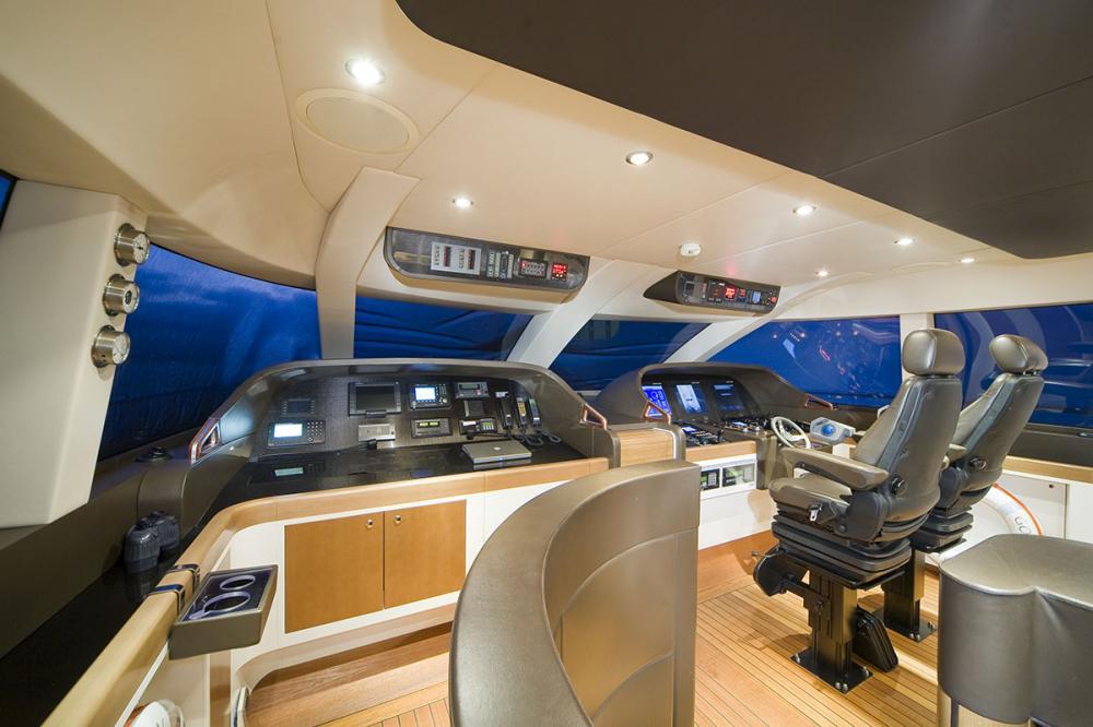PANTALA - Luxury Motor Yacht For Sale - Bridge - Img 1 | C&N