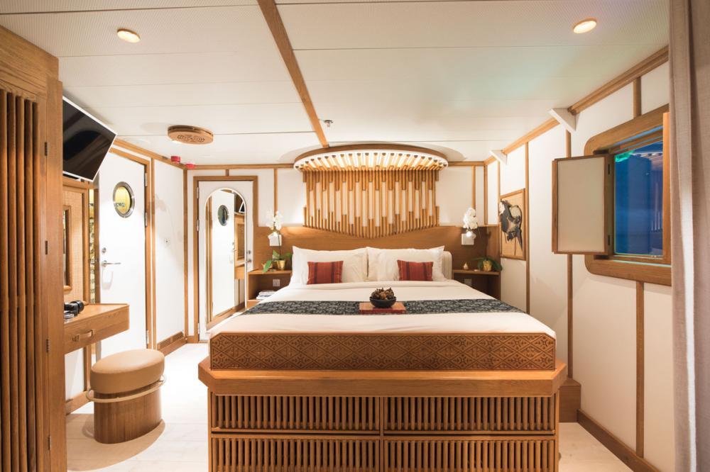 KUDANIL EXPLORER - Luxury Motor Yacht For Charter - Cabin 2 - Img 3 | C&N