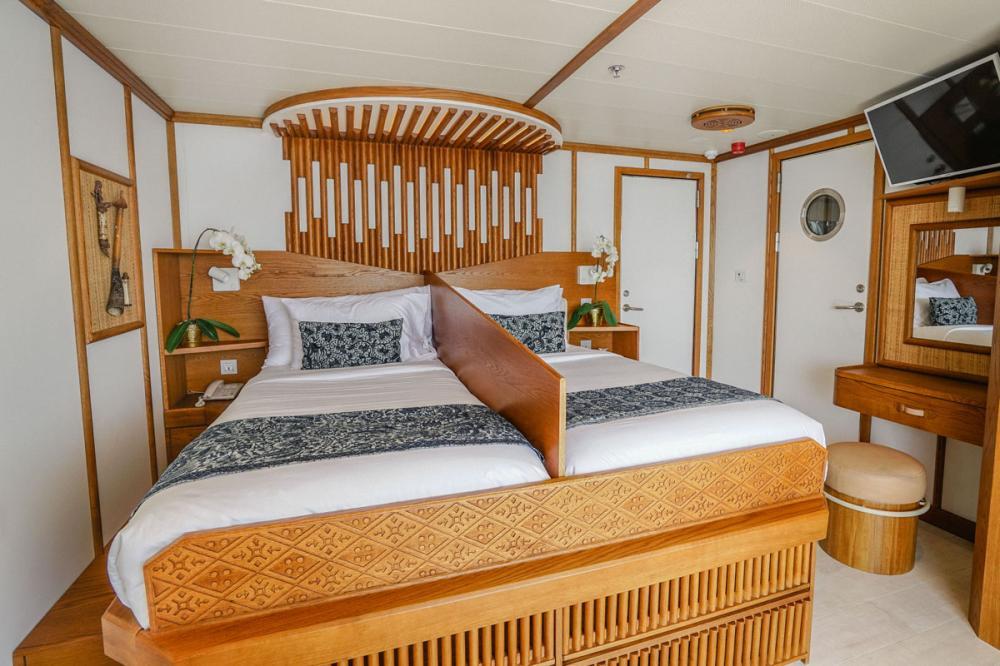 KUDANIL EXPLORER - Luxury Motor Yacht For Charter - Cabin 2 - Img 4 | C&N