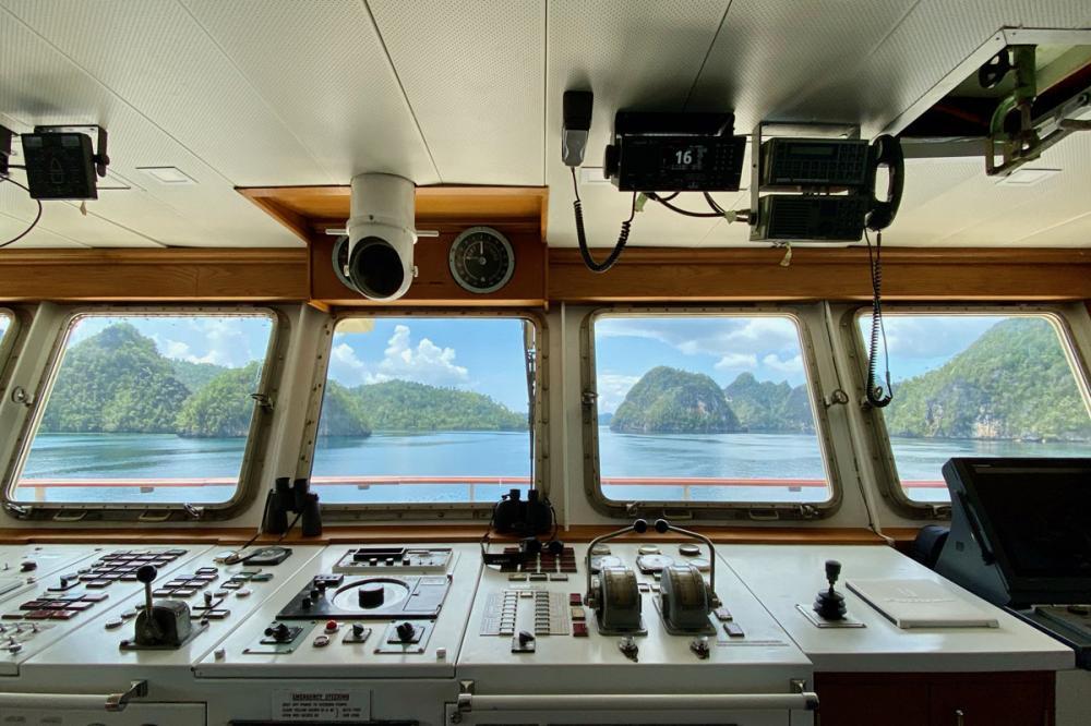 KUDANIL EXPLORER - Luxury Motor Yacht For Charter - Wheelhouse - Img 1 | C&N