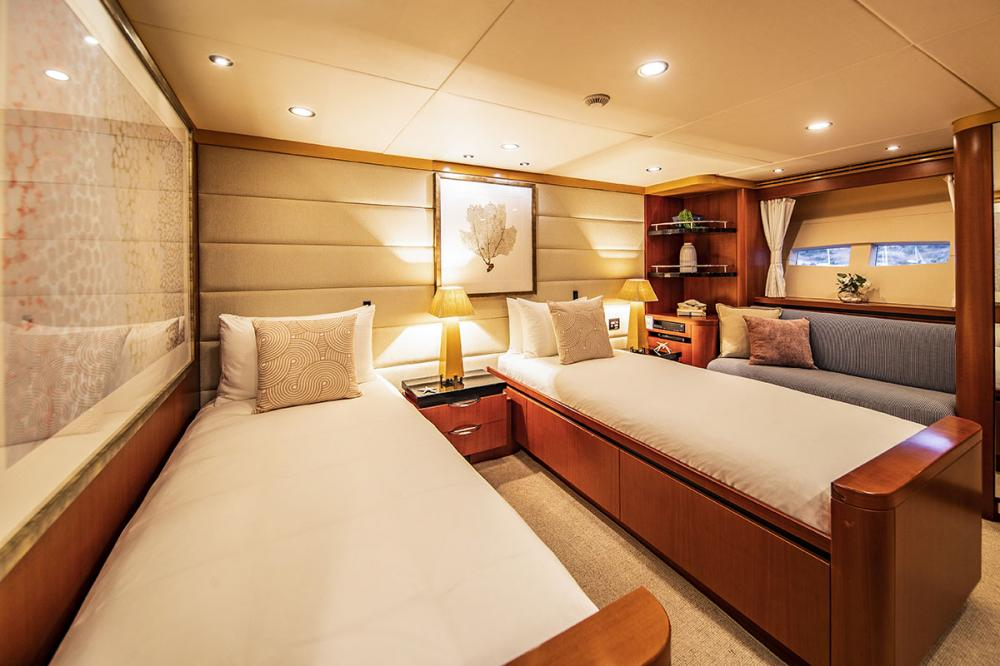 SPIRIT - Luxury Motor Yacht For Charter - 4 Double Cabins - two of which can be converted to twins - Img 4   C&N