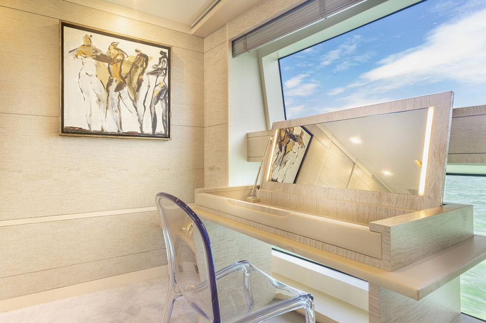 DELIBERATELY LUCKY - Luxury Motor Yacht For Sale - Owner's Cabin - Img 3   C&N