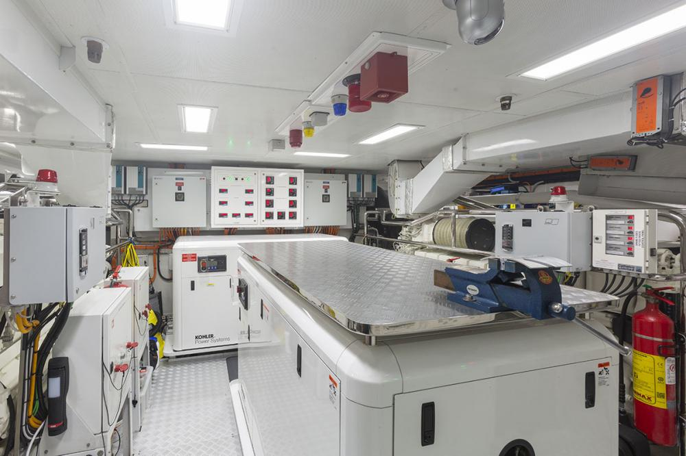DELIBERATELY LUCKY - Luxury Motor Yacht For Sale - Engine Room - Img 1   C&N