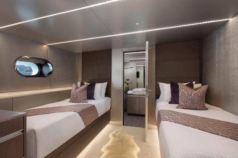 OCEAN EMERALD - Luxury Motor Yacht For Sale - 1 TWIN CABIN - Img 1 | C&N