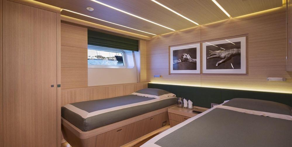 OHANA - Luxury Sailing Yacht For Charter - Two Twin Cabins - Img 1 | C&N