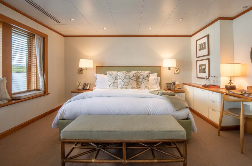 SURI - Luxury Motor Yacht For Charter - Master Suite  - Img 2   C&N