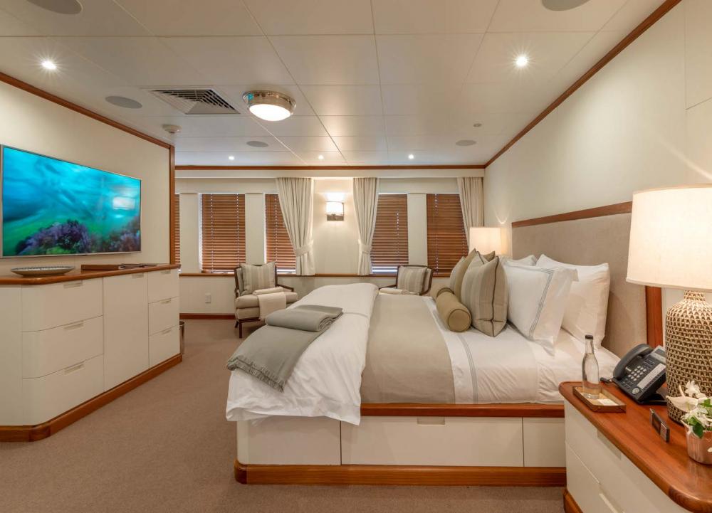 SURI - Luxury Motor Yacht For Charter - Master Suite  - Img 1   C&N