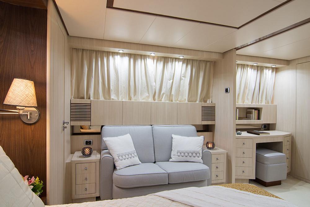 ACIONNA - Luxury Motor Yacht For Sale - Master Cabin - Img 2 | C&N