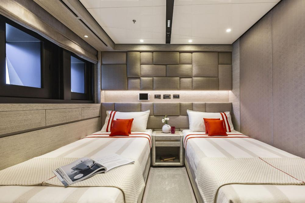 STERN - Luxury Motor Yacht For Sale - 2 GUEST CABINS - Img 1 | C&N