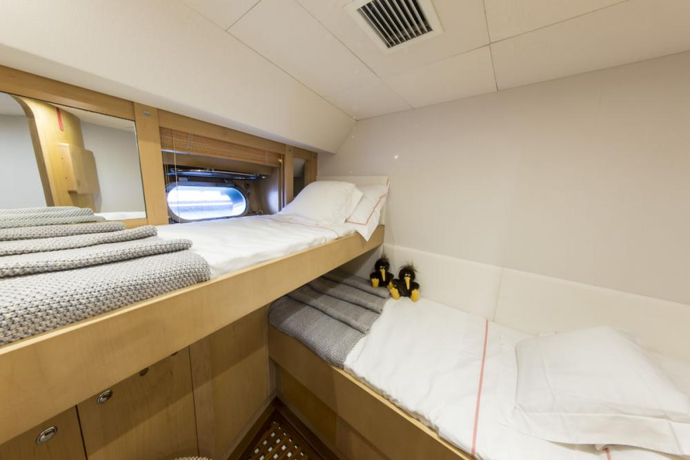 IMAGINE - Luxury Sailing Yacht For Charter - 1 MASTER CABIN - Img 4 | C&N