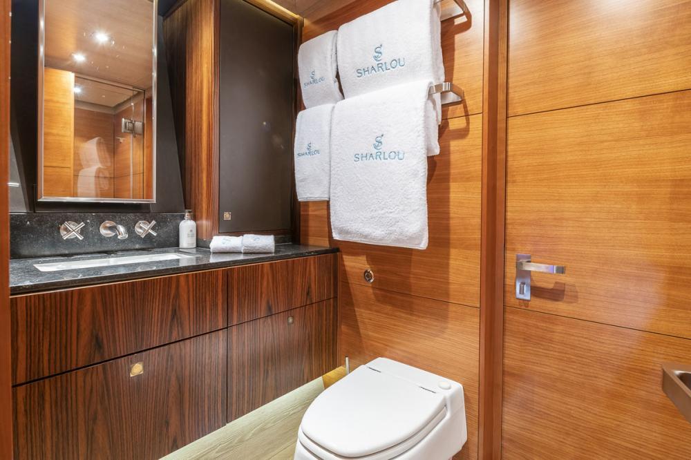 SHARLOU - Luxury Sailing Yacht For Charter - 1 TRIPLE CABIN   1 SINGLE CABIN  - Img 3   C&N