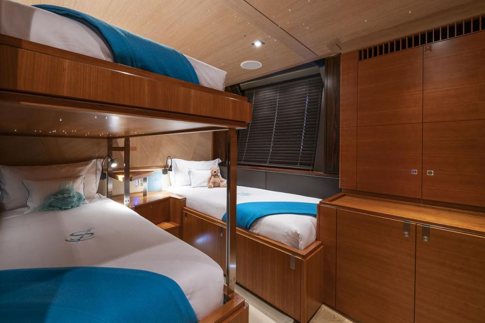 SHARLOU - Luxury Sailing Yacht For Charter - 1 TRIPLE CABIN   1 SINGLE CABIN  - Img 1   C&N