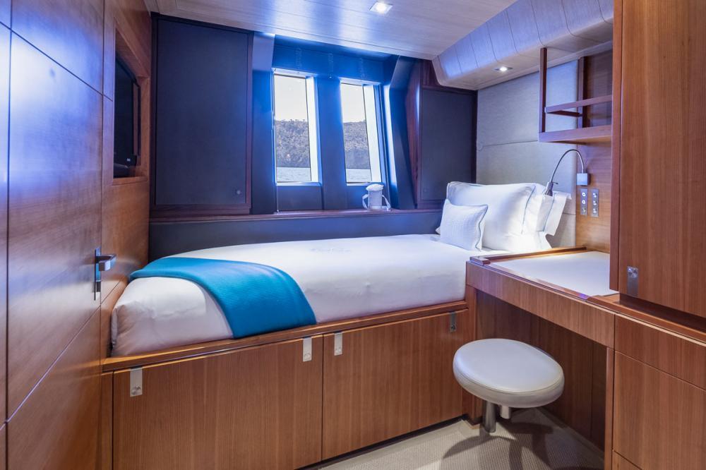 SHARLOU - Luxury Sailing Yacht For Charter - 1 TRIPLE CABIN   1 SINGLE CABIN  - Img 2   C&N