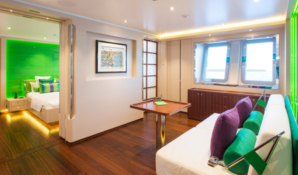 AQUIJO - Luxury Sailing Yacht For Charter - 3 DOUBLE CABINS - Img 3 | C&N