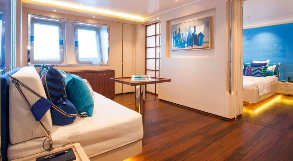 AQUIJO - Luxury Sailing Yacht For Charter - 3 DOUBLE CABINS - Img 2 | C&N