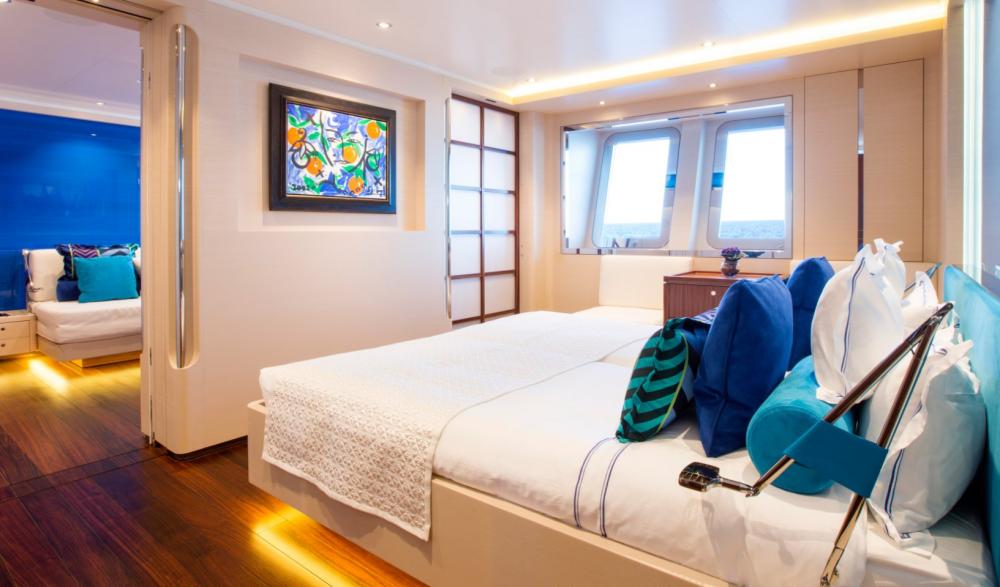 AQUIJO - Luxury Sailing Yacht For Charter - 2 VIP CABINS - Img 1 | C&N