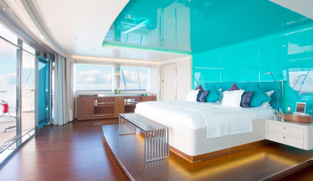 AQUIJO - Luxury Sailing Yacht For Charter - 1 MASTER CABIN - Img 1 | C&N