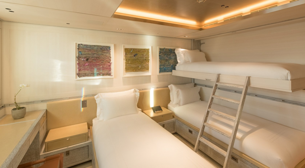Driftwood - Luxury Motor Yacht For Charter - 1 TWIN CABIN - Img 1   C&N