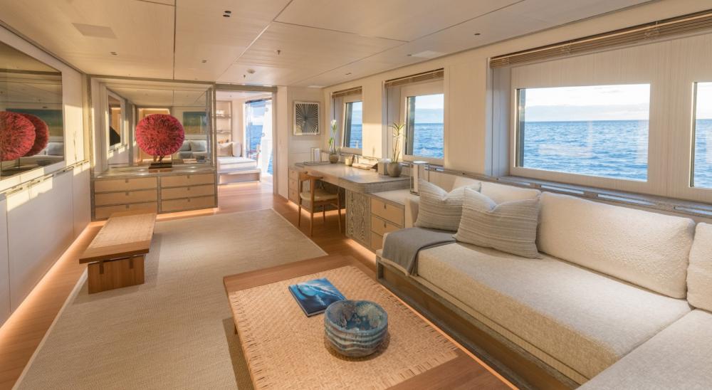Driftwood - Luxury Motor Yacht For Charter - 1 MASTER CABIN - Img 6   C&N
