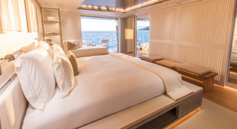 Driftwood - Luxury Motor Yacht For Charter - 1 MASTER CABIN - Img 3   C&N