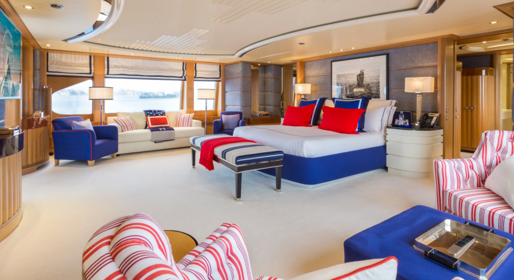 Air - Luxury Motor Yacht For Charter - 1 MASTER CABIN - Img 1 | C&N