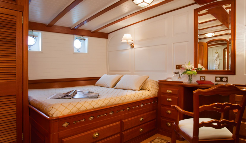 ELENA OF LONDON - Luxury Sailing Yacht For Charter - 1 DOUBLE CABIN - Img 1   C&N