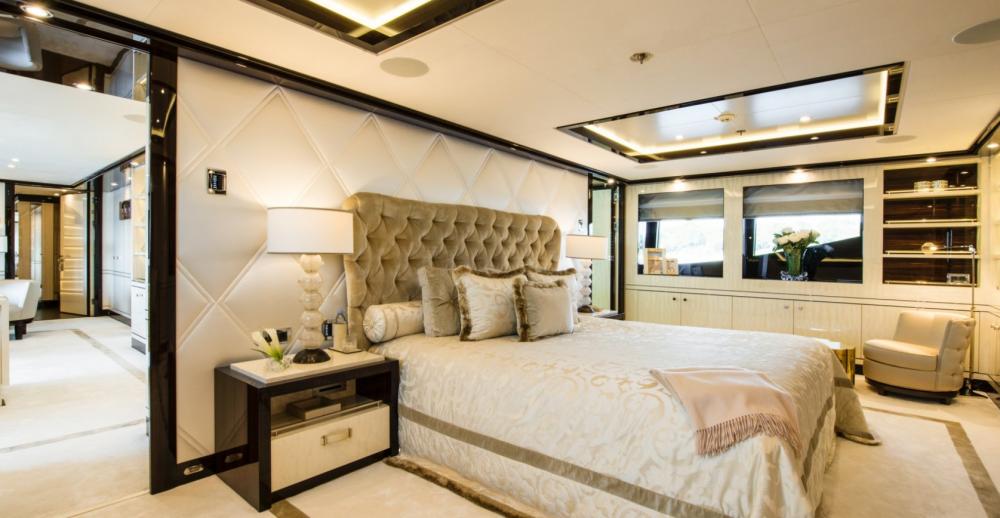 ELIXIR - Luxury Motor Yacht For Charter - 1 MASTER CABIN - Img 2 | C&N