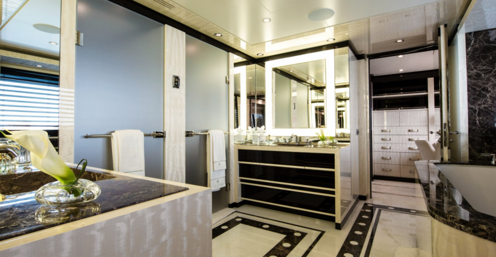 ELIXIR - Luxury Motor Yacht For Charter - 1 MASTER CABIN - Img 3 | C&N