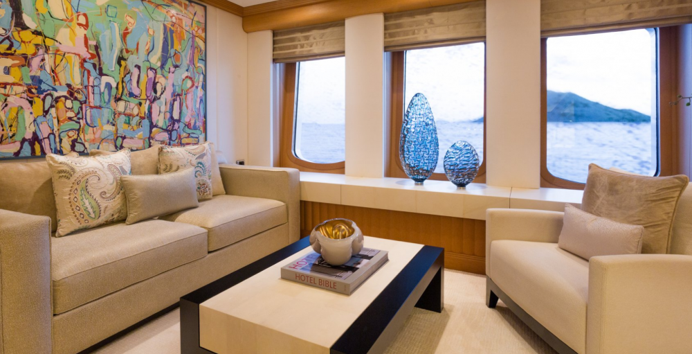 HANIKON - Luxury Motor Yacht For Charter - 1 MASTER CABIN - Img 3   C&N