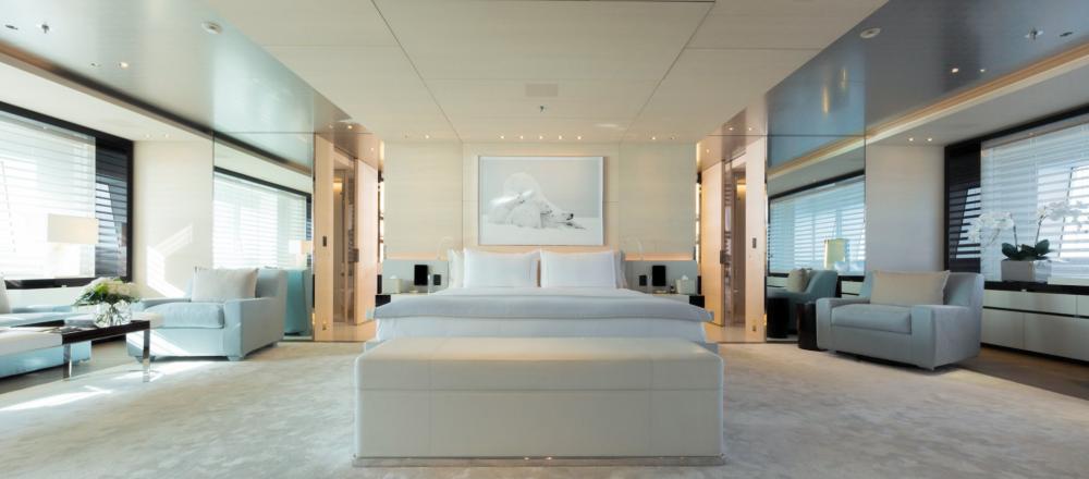 Nautilus - Luxury Motor Yacht For Charter - 1 MASTER CABIN - Img 1 | C&N