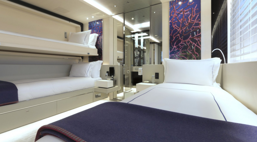 Nautilus - Luxury Motor Yacht For Charter - 2 TWIN CABINS - Img 2 | C&N