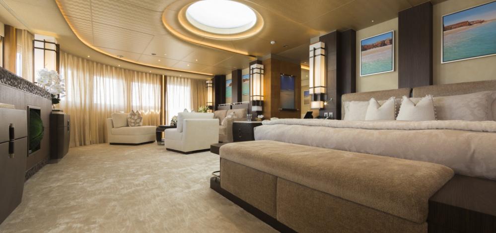 NIRVANA - Luxury Motor Yacht For Charter - MASTER SUITE - Img 1 | C&N