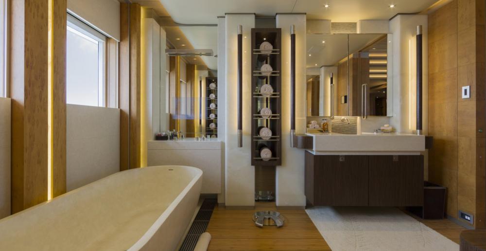 NIRVANA - Luxury Motor Yacht For Charter - MASTER SUITE - Img 4 | C&N