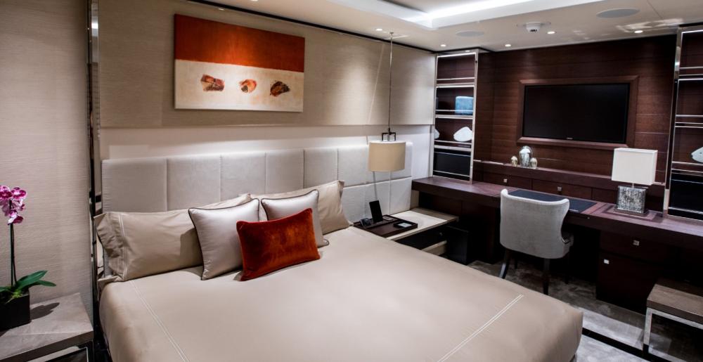 SAMURAI - Luxury Motor Yacht For Charter - 1 Convertible Cabins - Img 1   C&N
