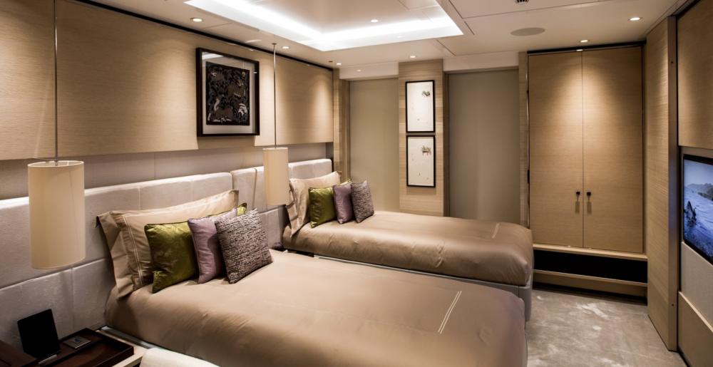 SAMURAI - Luxury Motor Yacht For Charter - 1 Twins Cabins - Img 1   C&N