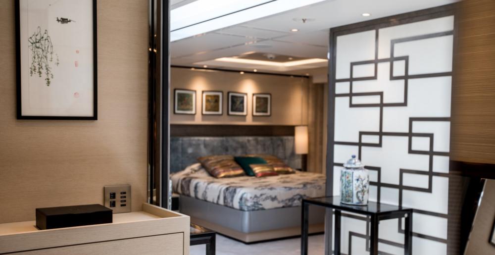 SAMURAI - Luxury Motor Yacht For Charter - 1 Master Cabin - Img 2   C&N