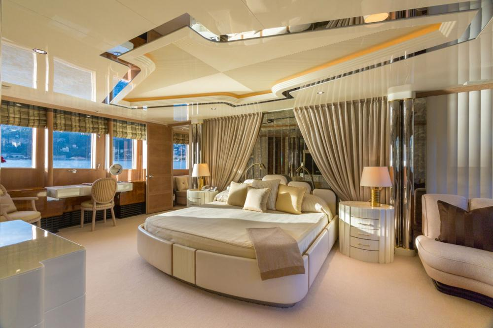 ECLIPSE - Luxury Motor Yacht For Charter - 1 MASTER CABIN  - Img 1 | C&N