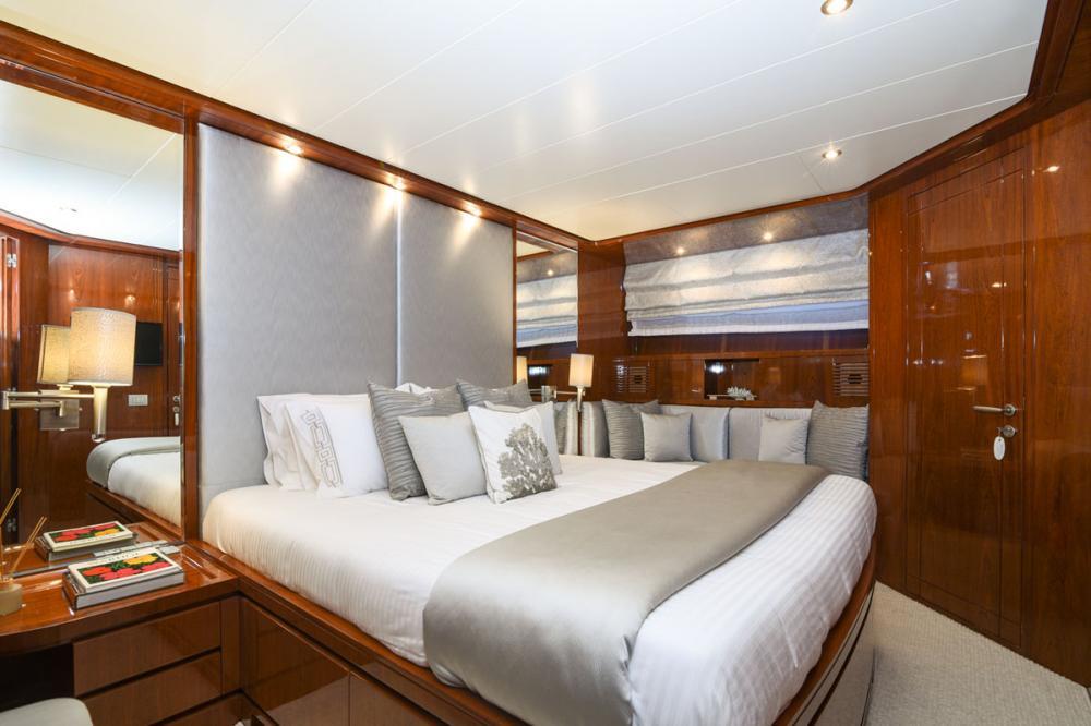 Zen - Luxury Motor Yacht For Sale - VIP Cabin - Img 1 | C&N